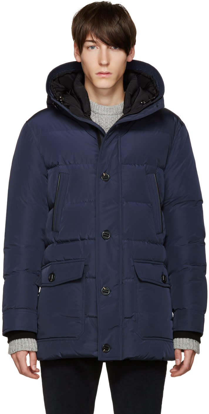 Mackage Blue Artem Down Jacket