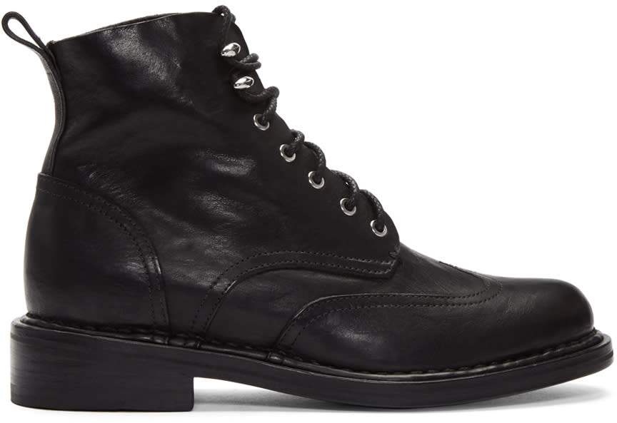 Rag and Bone Black Cozen Boots