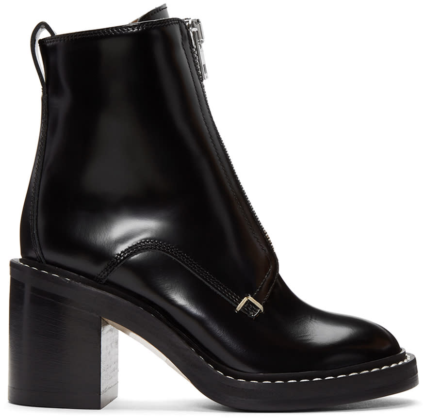 Rag and Bone Black Shelby Boots