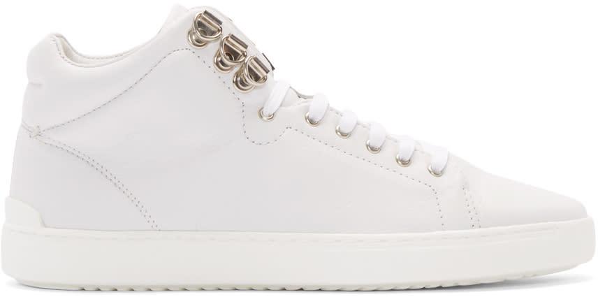 Rag and Bone White Kent High-top Sneakers