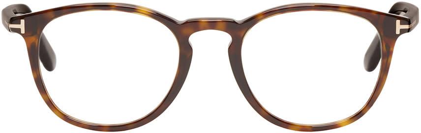 Tom Ford Tortoiseshell Tf5401 Optical Glasses