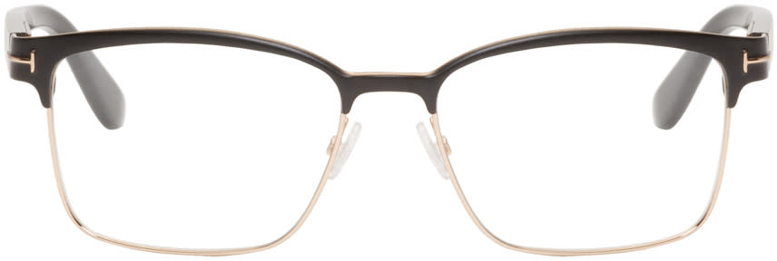 Tom Ford Black and Gold Tf5323 Glasses