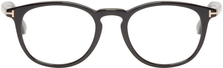 Tom Ford Black Acetate Tf5401 Glasses