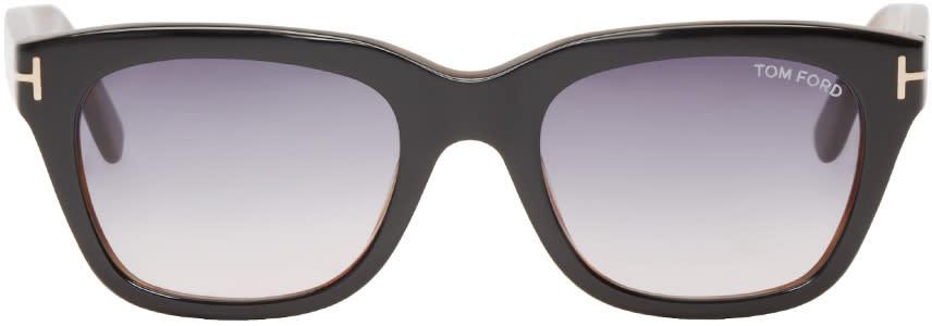 Tom Ford Black Snowdon Sunglasses