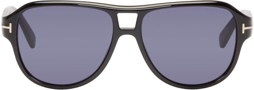 Image of Tom Ford Black Dylan Aviator Sunglasses