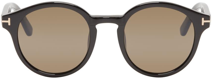 Tom Ford Black Round Lucho Sunglasses