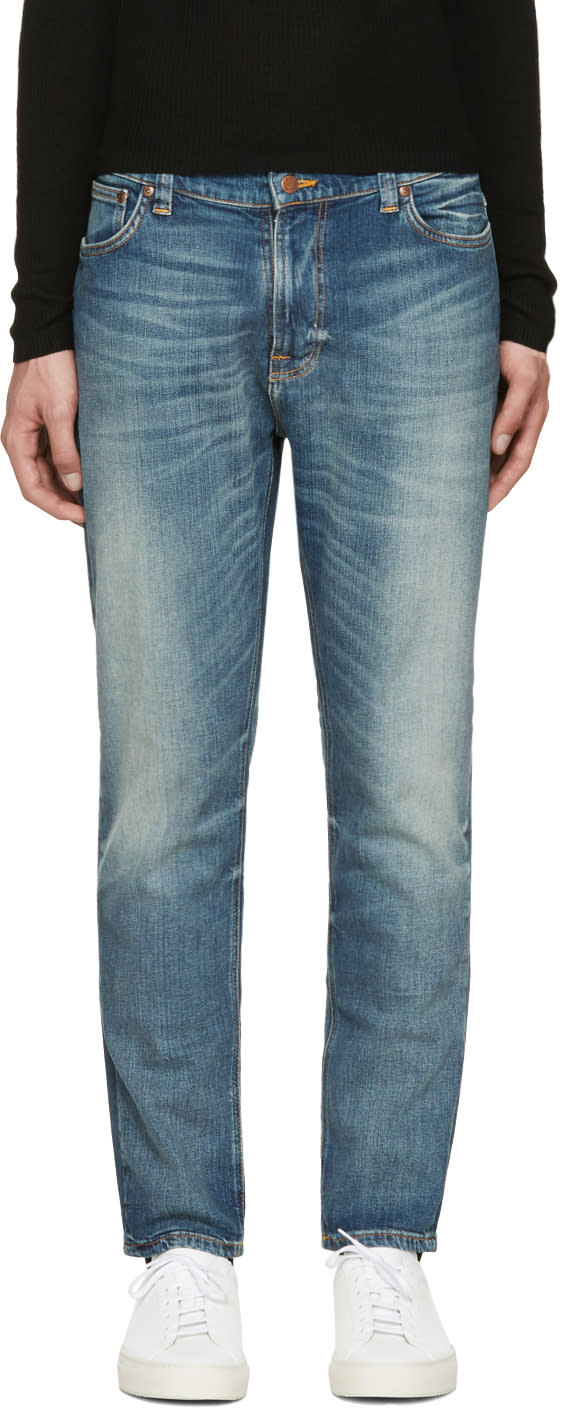 Nudie Jeans Blue Brut Knut Jeans
