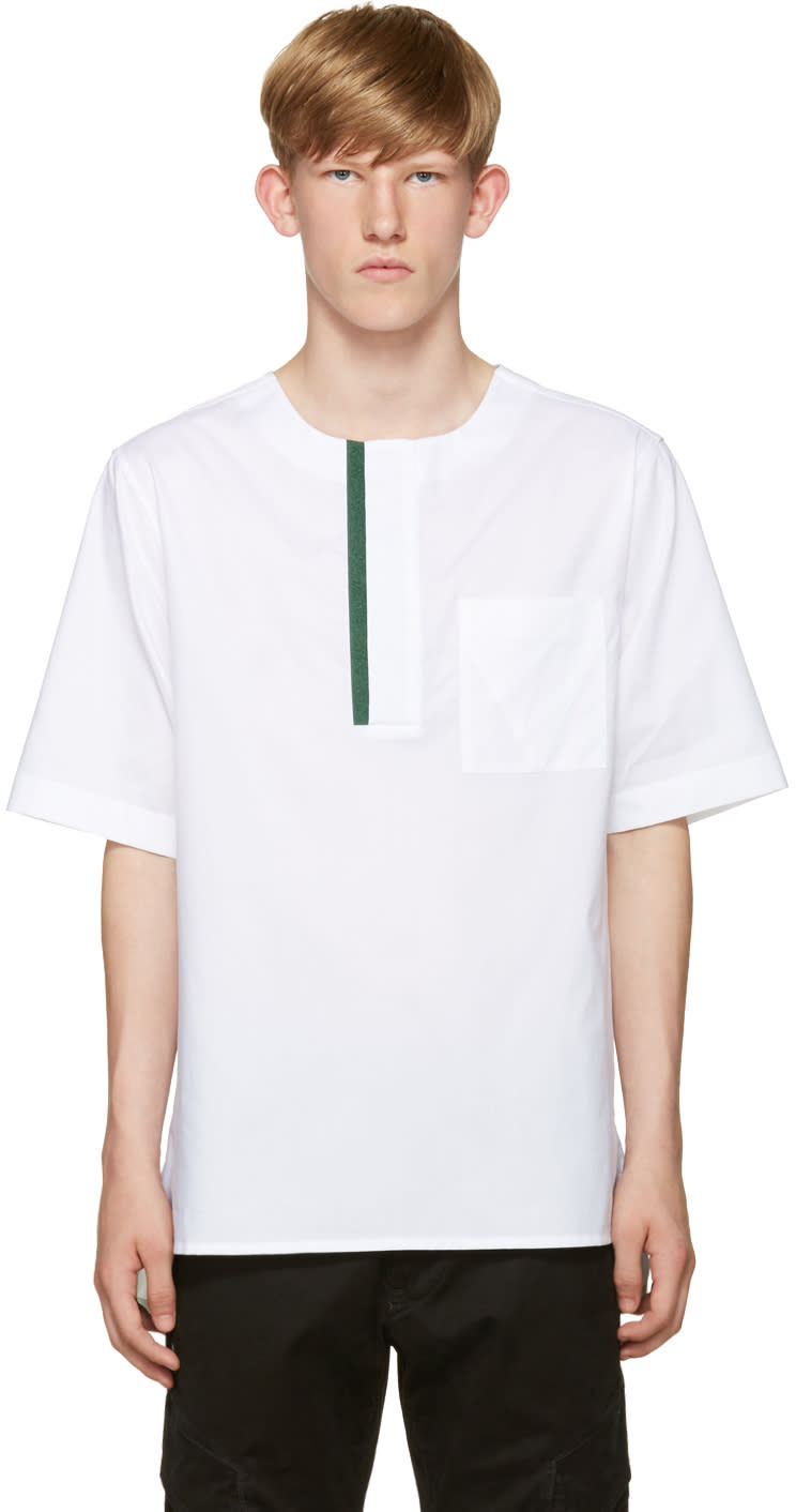 Public School White Mer T-shirt