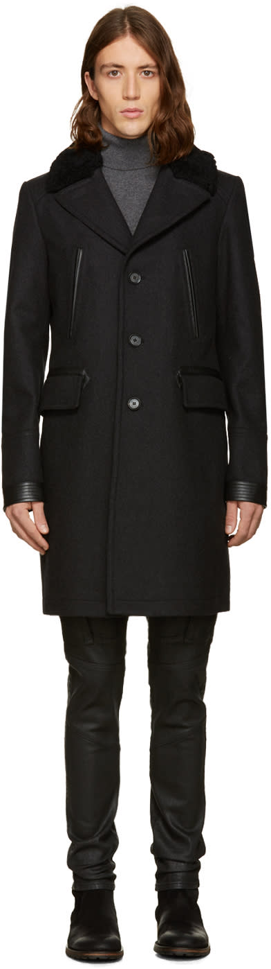 Belstaff Grey Grovewood Coat