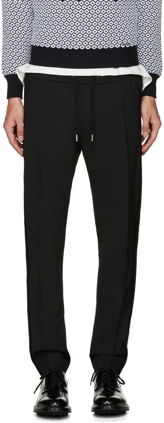 Diesel Black Gold Black Drawstring Trousers