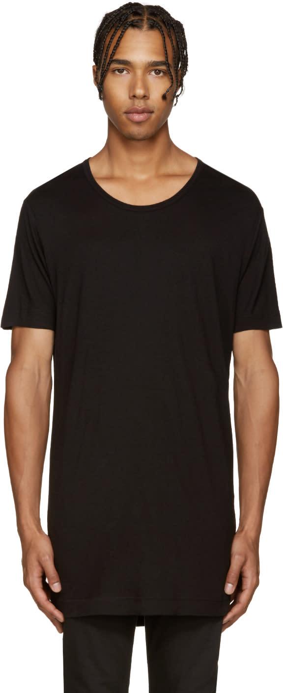 Diesel Black Gold Black Jersey T-shirt