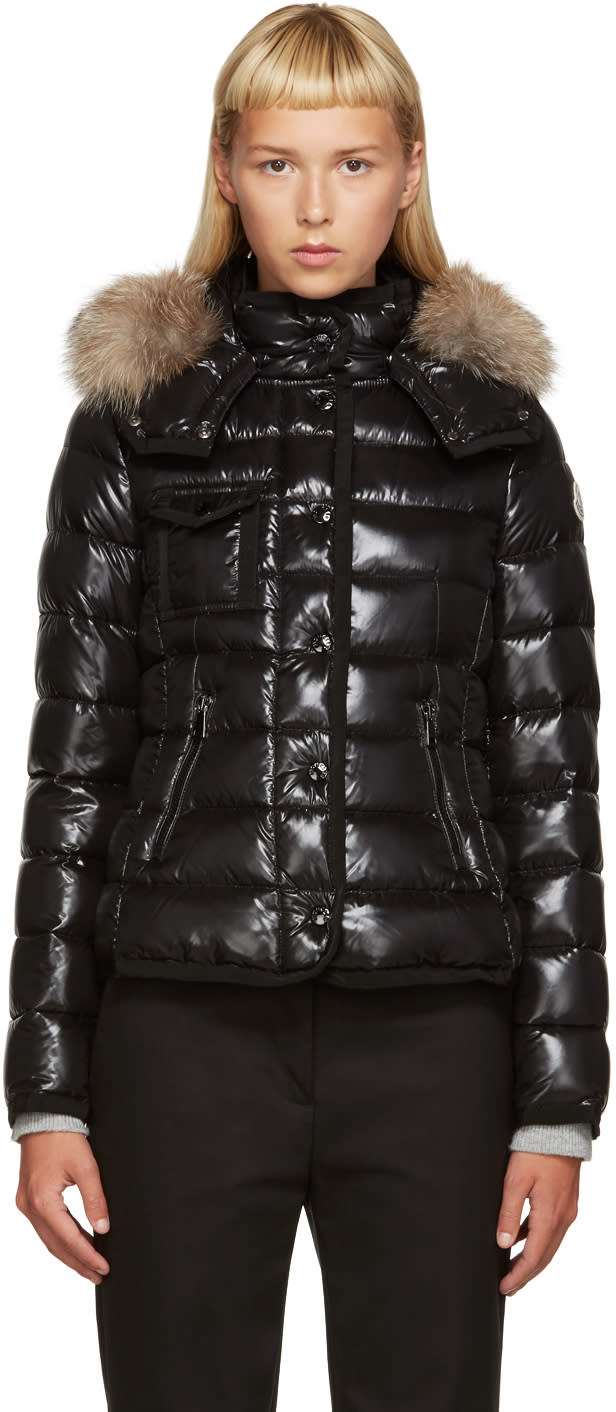 Moncler Black Down Short Armoise Jacket