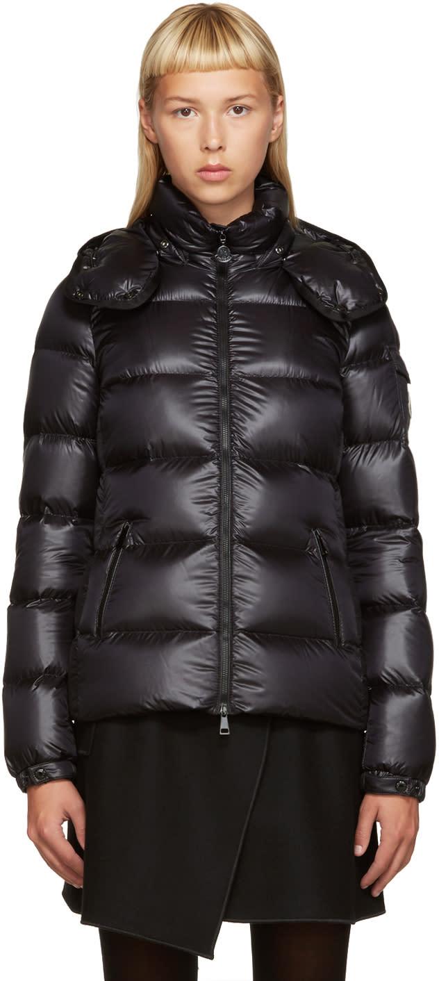 Moncler Black Down Berre Jacket