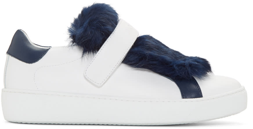 Moncler White Lucie Sneakers