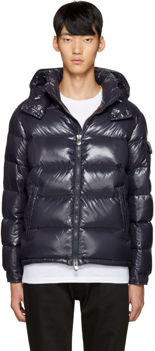 Moncler Navy Down Maya Jacket