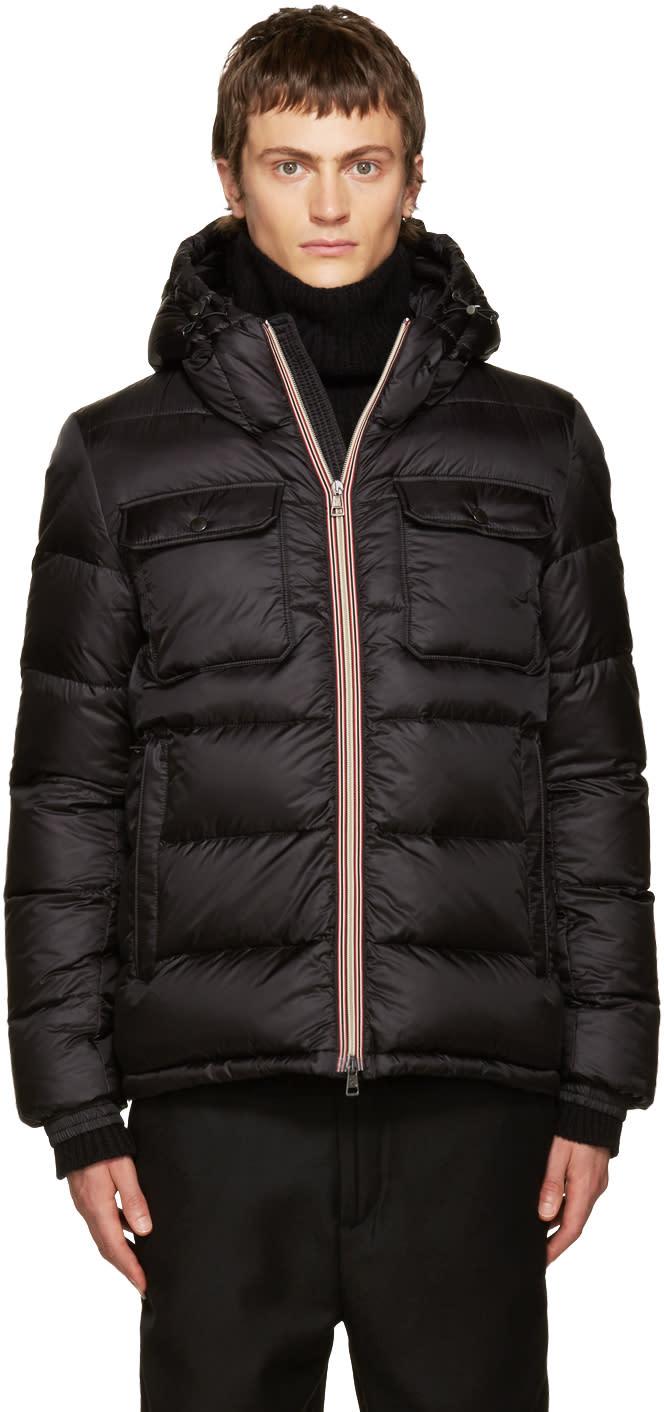 Moncler Black Down Morane Jacket