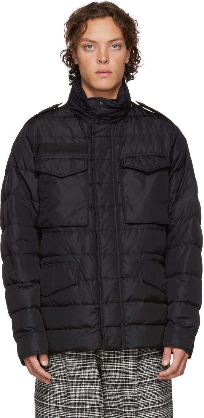 Moncler Black Down Zacarie Jacket