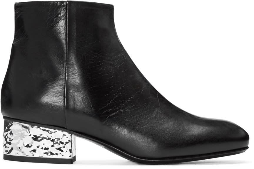 Mcq Alexander Mcqueen Black Shacklewell Boots