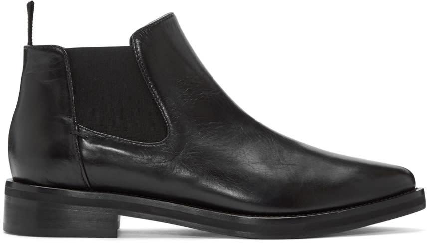 Mcq Alexander Mcqueen Black Chelsea Boots