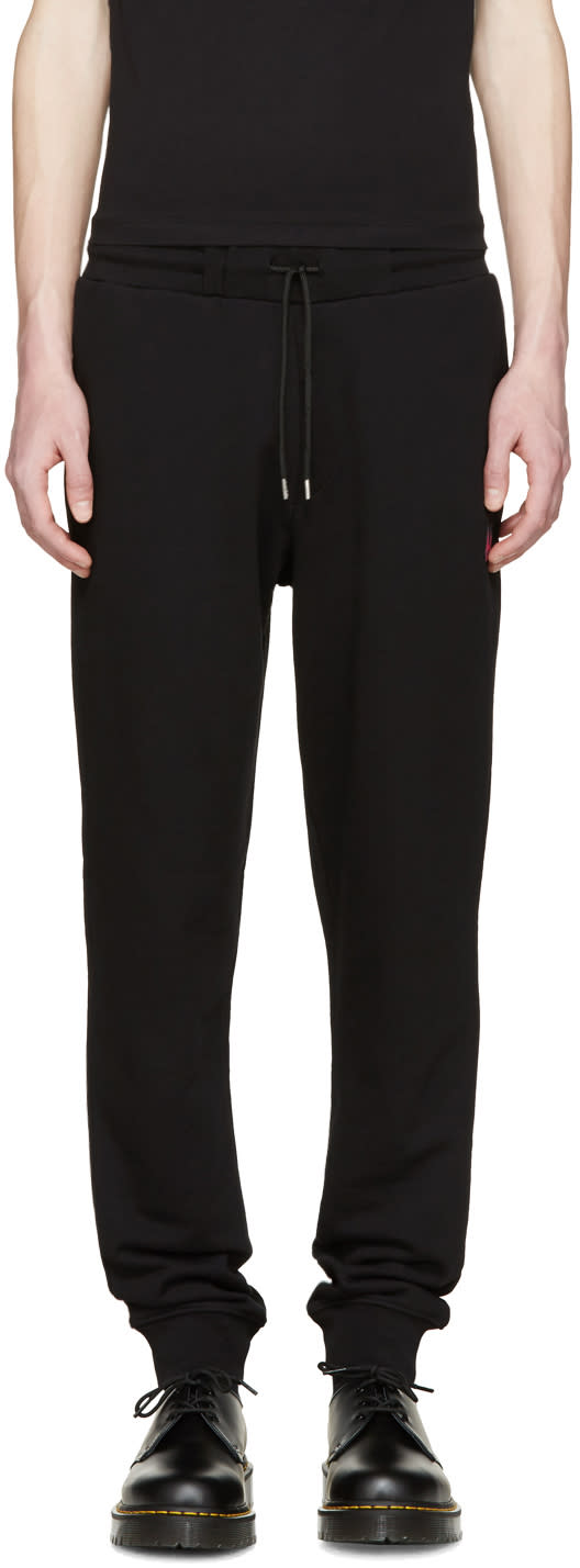 Mcq Alexander Mcqueen Black Jersey Lounge Pants