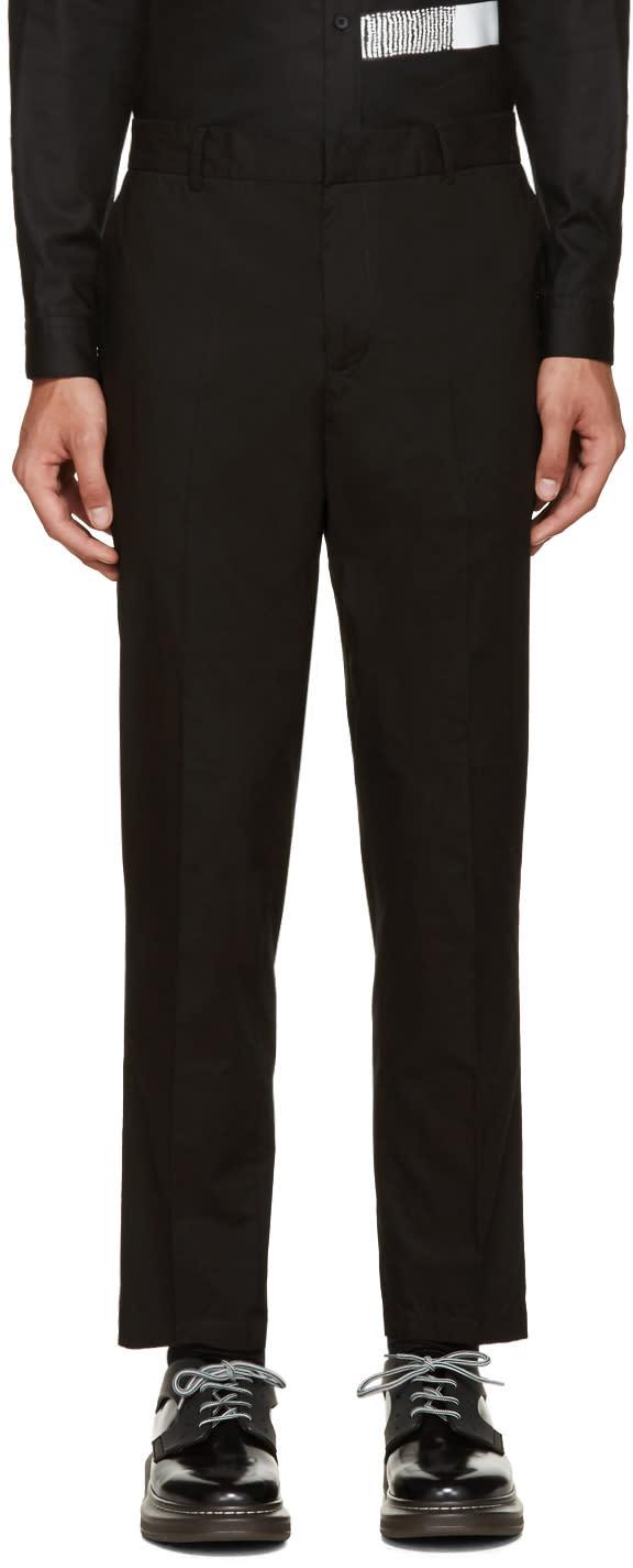 Mcq Alexander Mcqueen Black Doherty Trousers