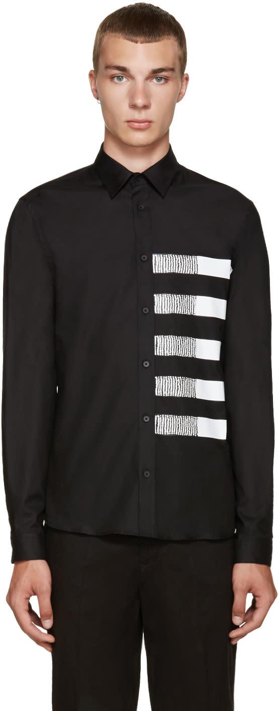 Mcq Alexander Mcqueen Black Googe Shirt