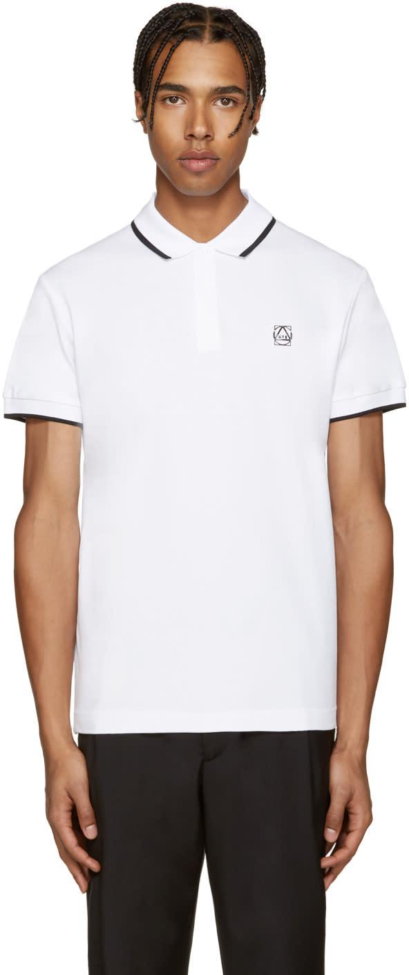 0e69fe235e Mcq Alexander Mcqueen White Logo Polo