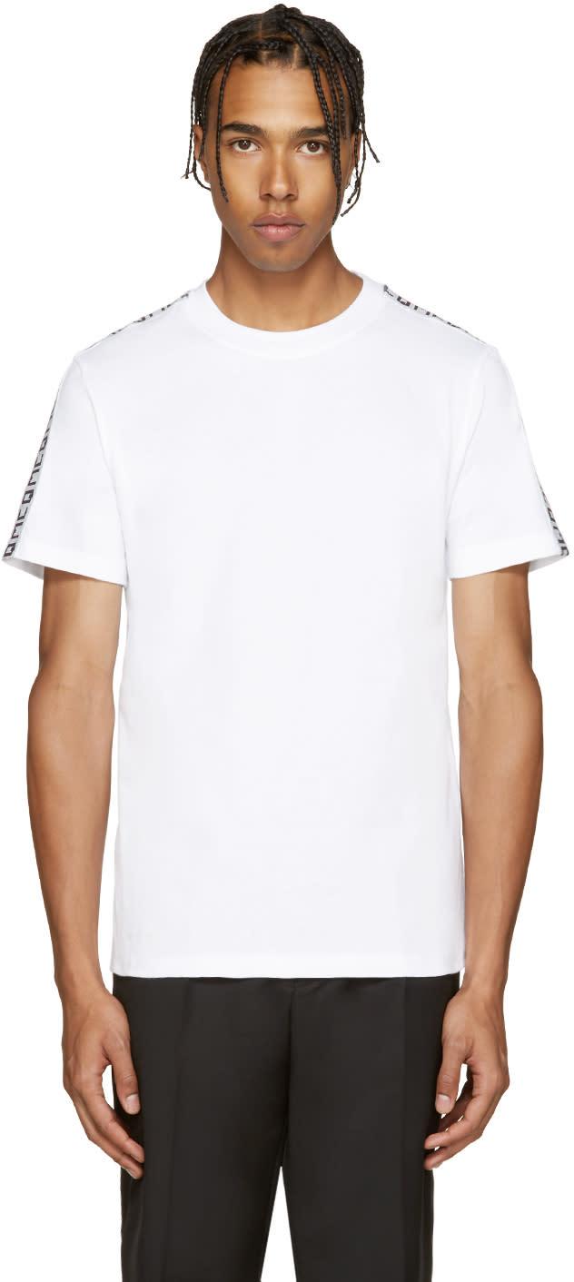 Mcq Alexander Mcqueen White Tape T-shirt