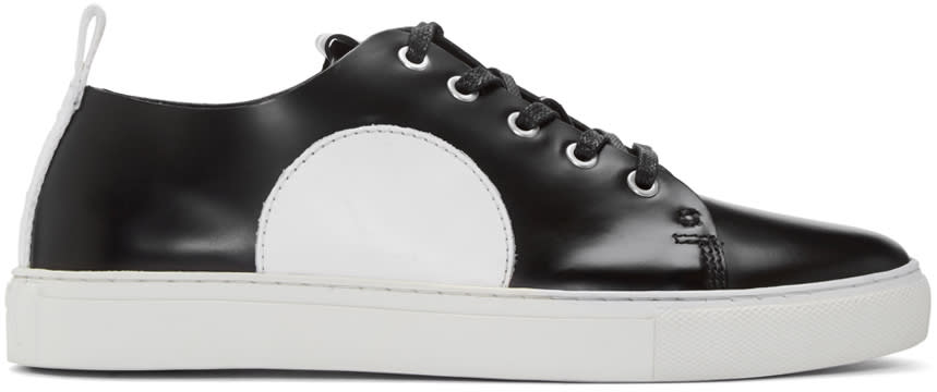 Mcq Alexander Mcqueen Black and White Chris Sneakers