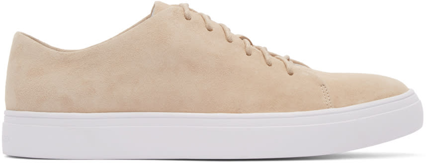 Tiger Of Sweden Tan Suede Sneakers