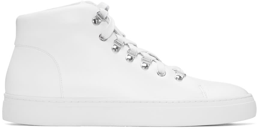 Tiger Of Sweden White Yngve High-top Sneakers