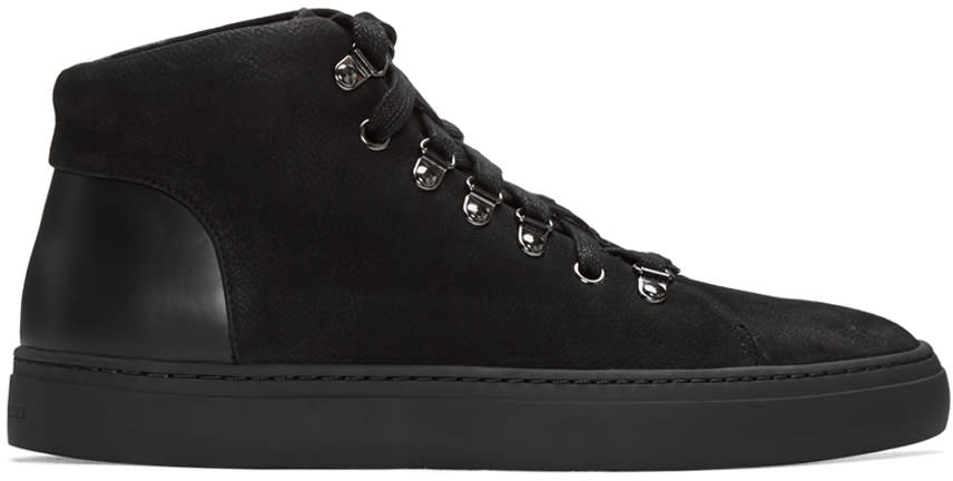 Tiger Of Sweden Black Yngve High-top Sneakers