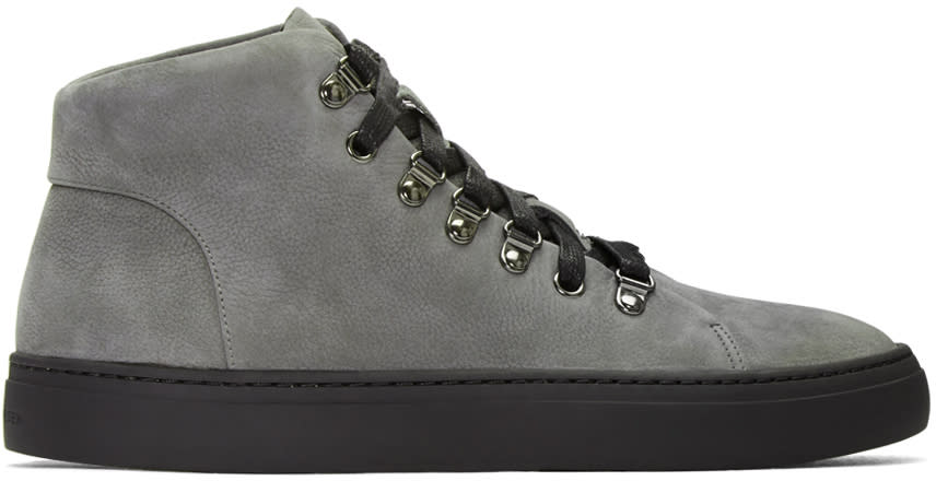Tiger Of Sweden Grey Yngve High-top Sneakers