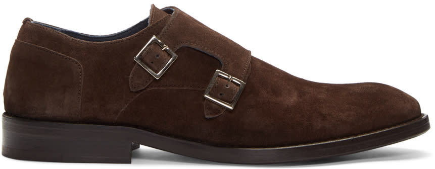 Tiger Of Sweden Brown Harry Monkstraps