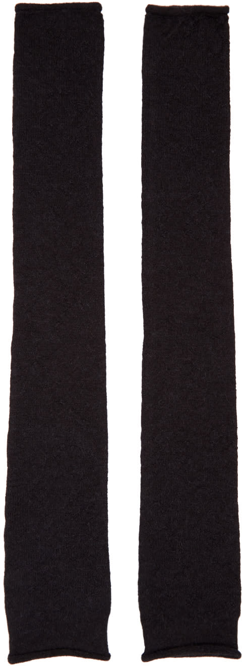 Acne Studios Black Knit Jaya Sleeves