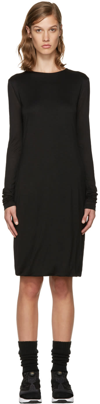 Acne Studios Black Jersey Nalani Dress