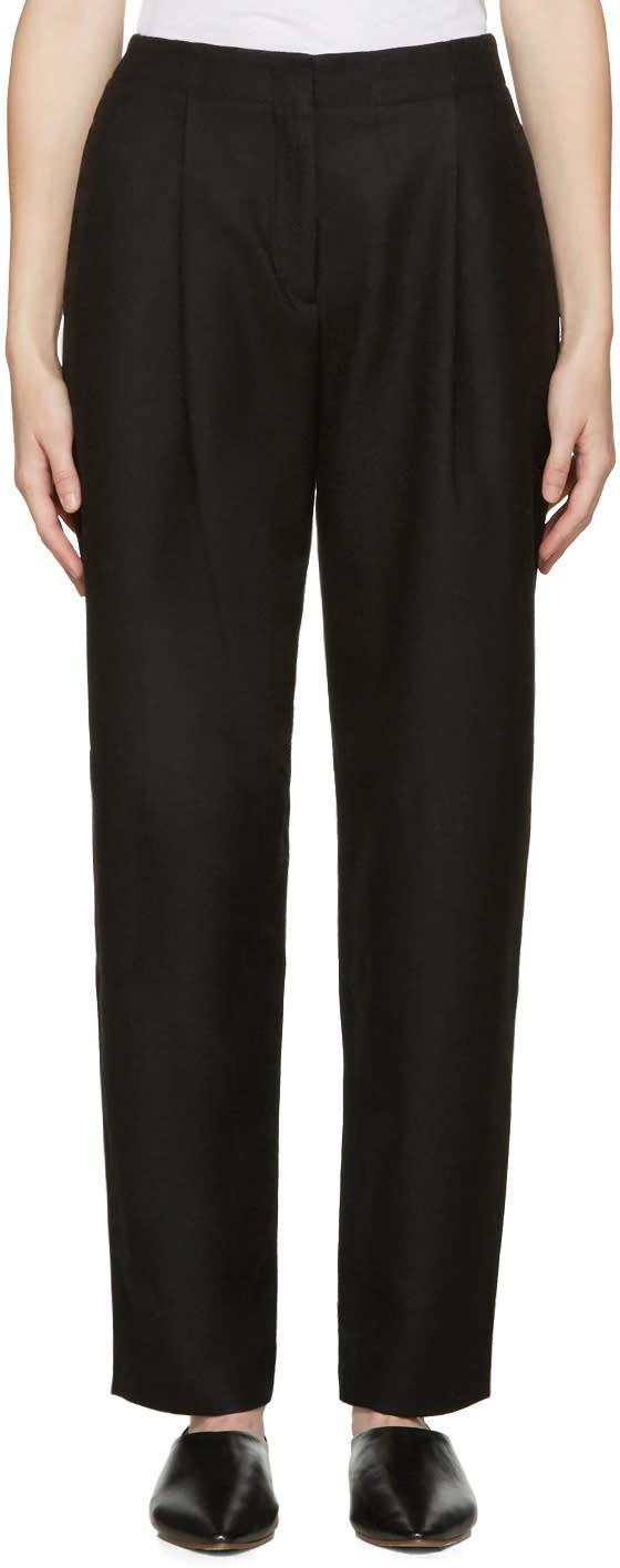 Acne Studios Black Selah Trousers