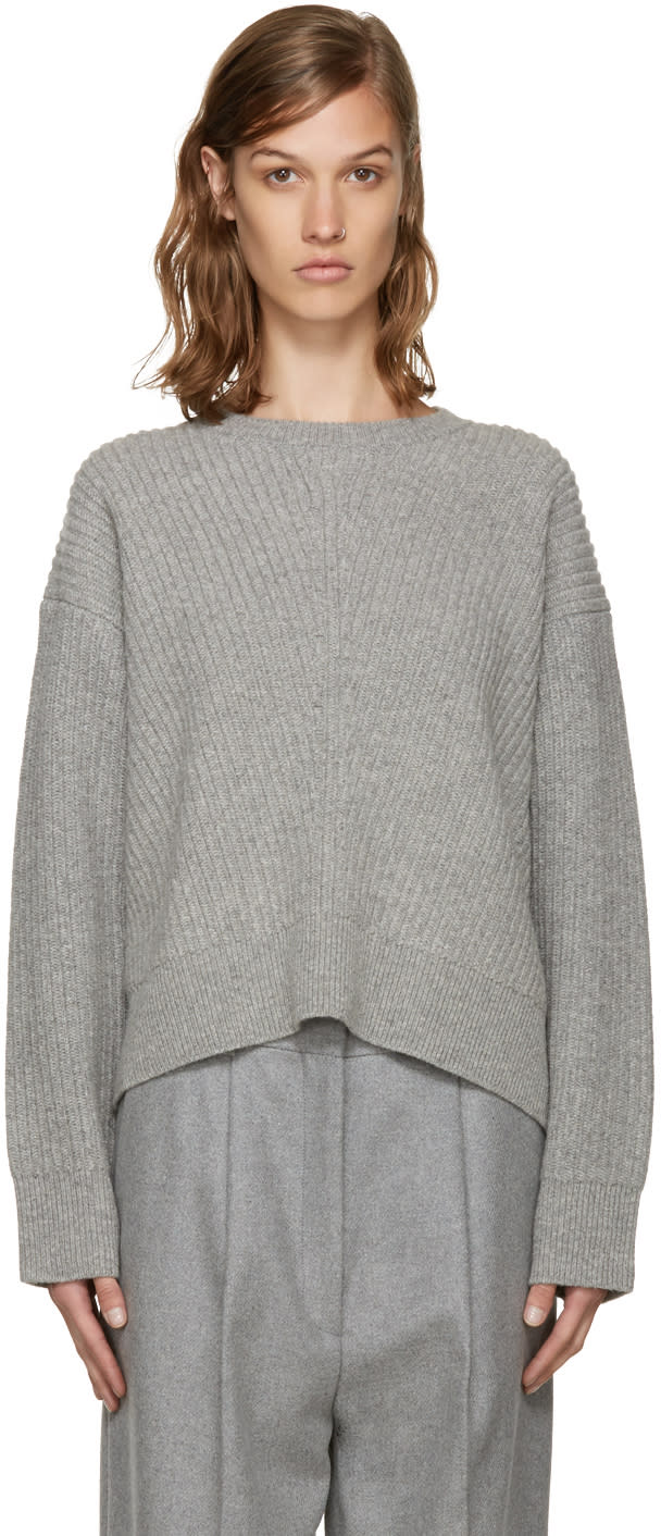 Acne Studios Grey Wool Java Sweater