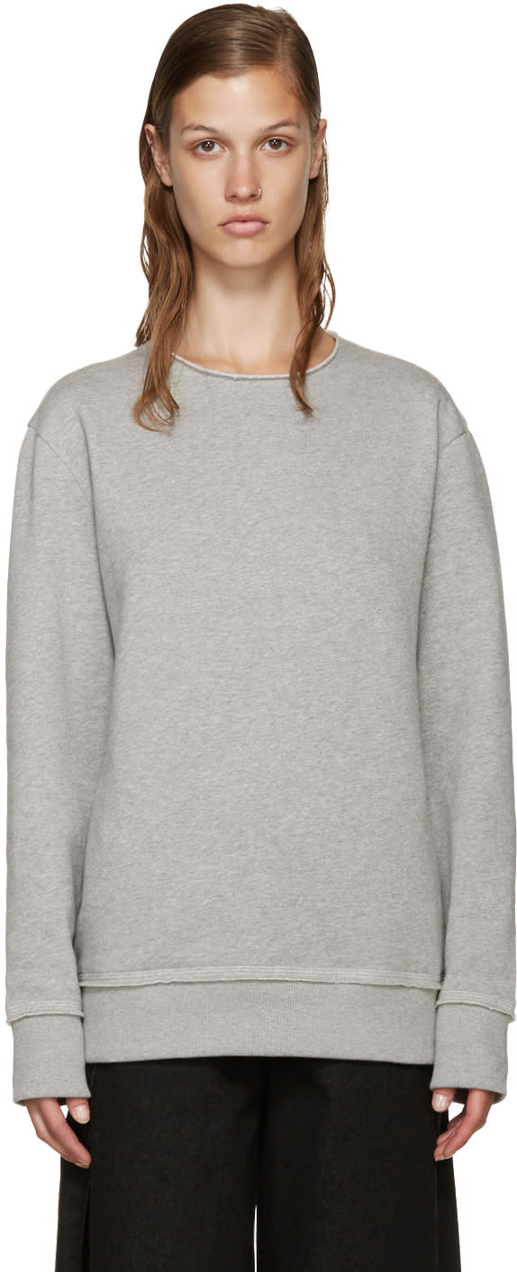 Acne Studios Grey Carly Sweatshirt
