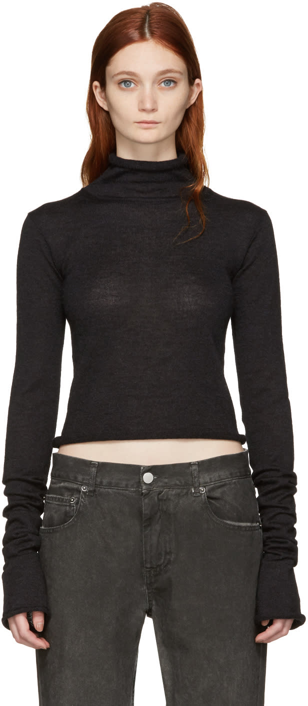 Acne Studios Black Jiao Turtleneck