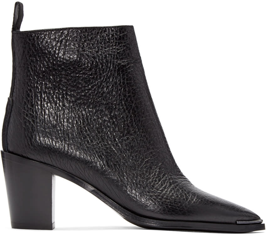 Acne Studios Black Loma Ankle Boot