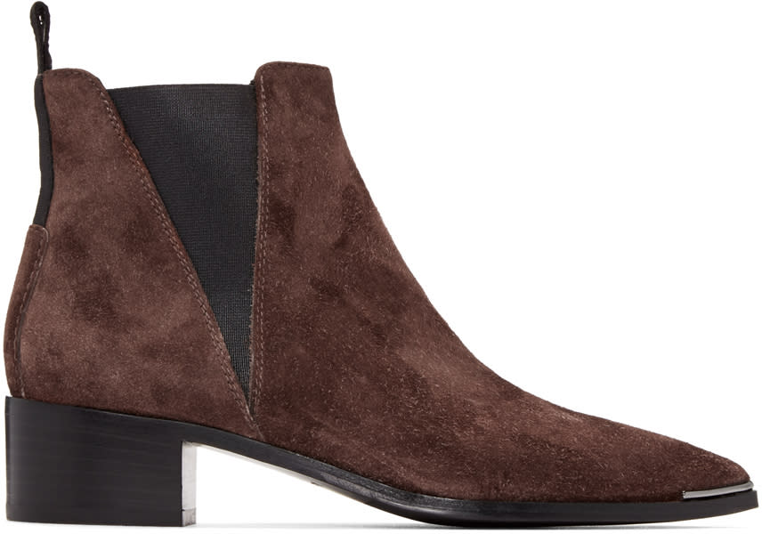 Acne Studios Brown Jensen Boots