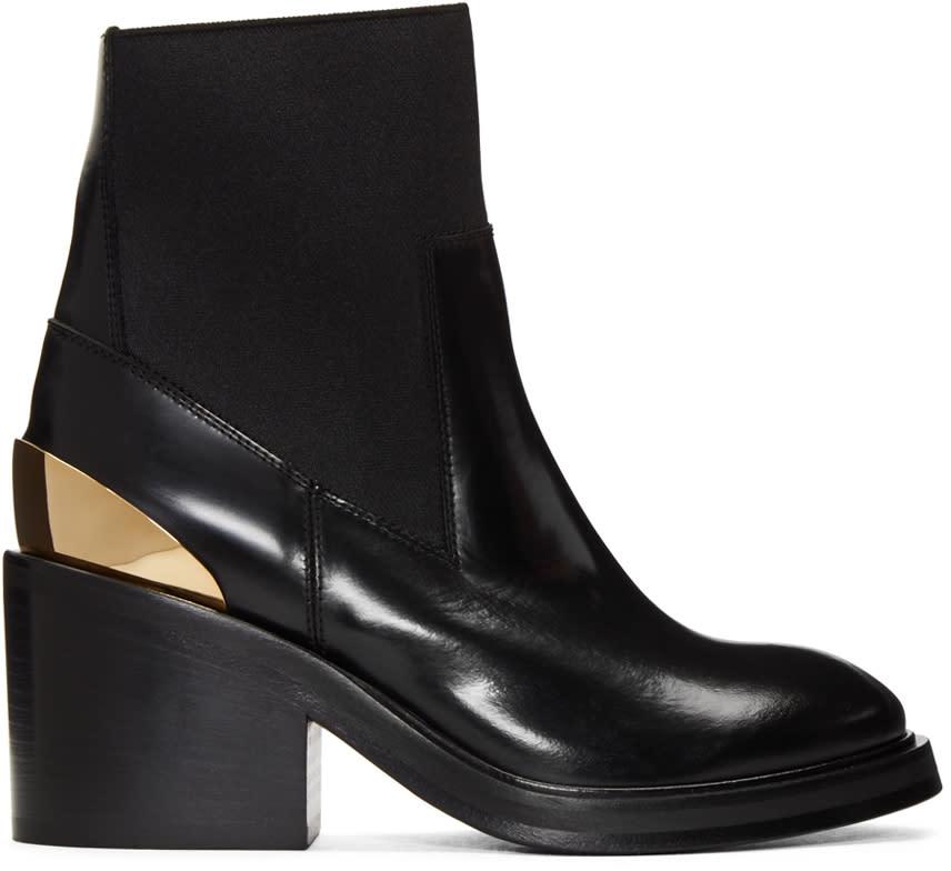 Acne Studios Black Dion Ankle Boots