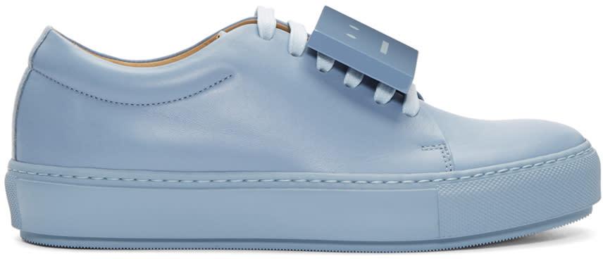 Acne Studios Blue Adriana Sneakers