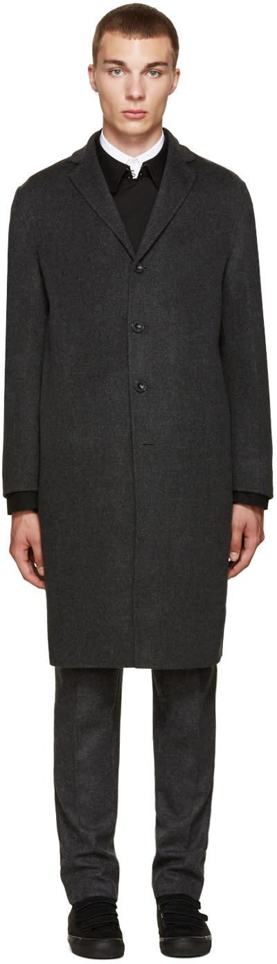 Acne Studios Grey Charlie Coat