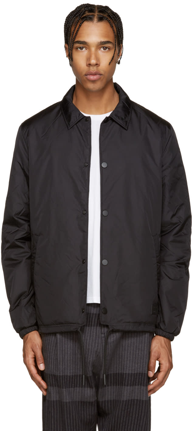 Acne Studios Black Insulated Tony Face Jacket