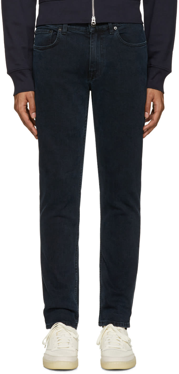Acne Studios Navy Ace Jeans