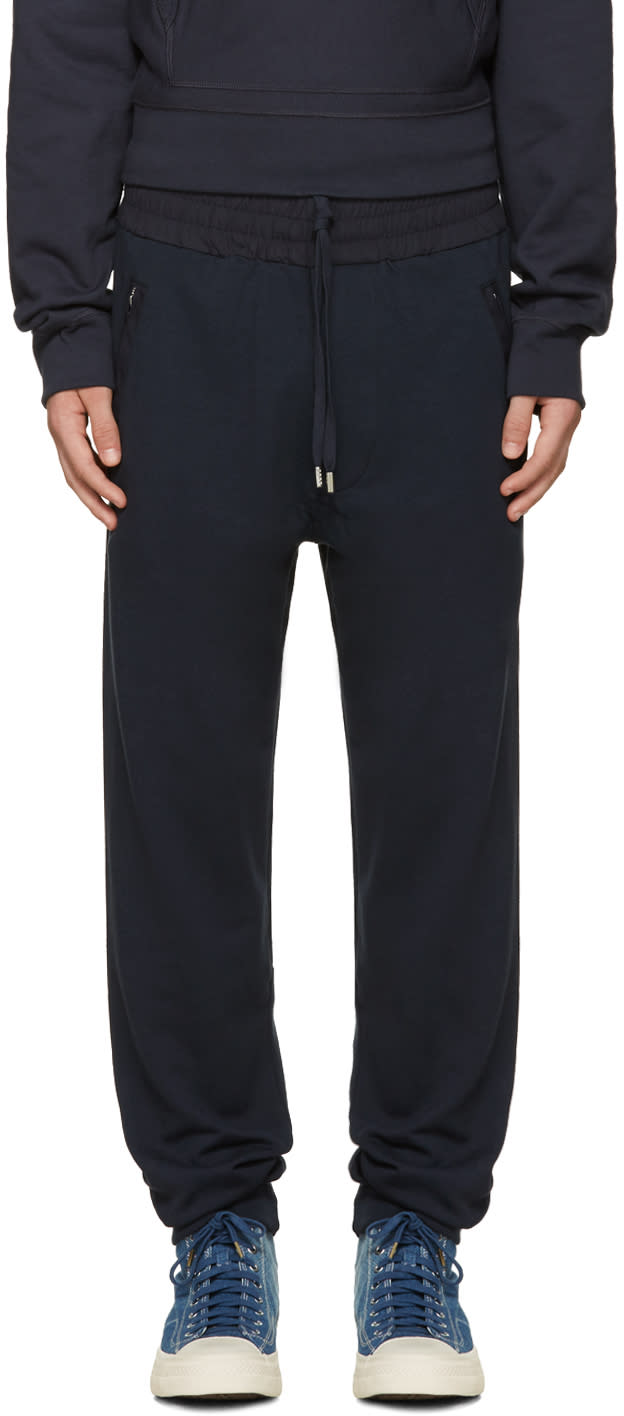 Acne Studios Navy Johna Lounge Pants