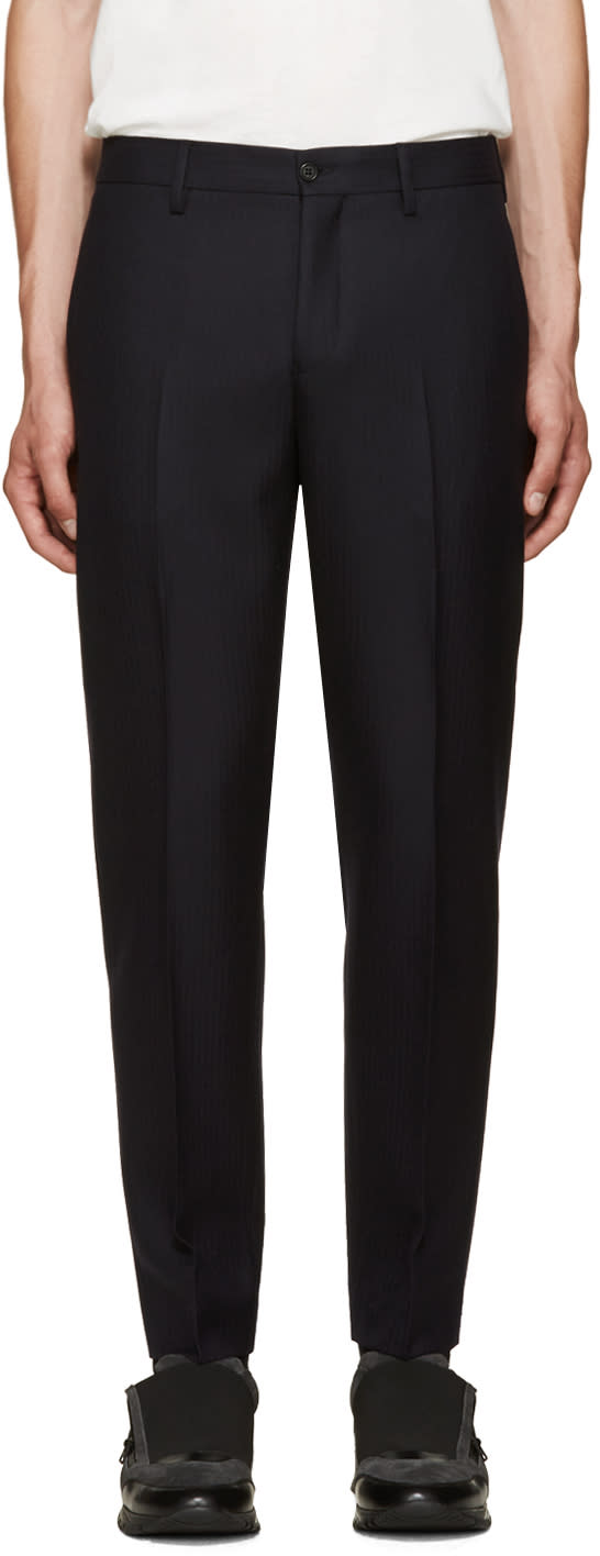 Acne Studios Navy Stan Trousers