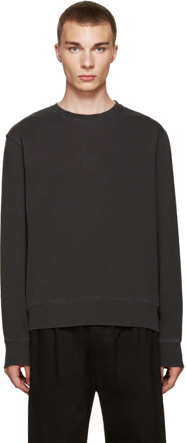 Acne Studios Black Vintage Casey Pullover